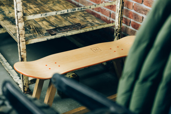 Baked / Roast – Handmade skateboard furniture