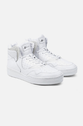 White High-Cut Sneakers