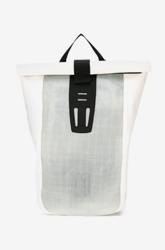 White 'Velocity' Backpack from 11 By Boris Bidjan Saberi