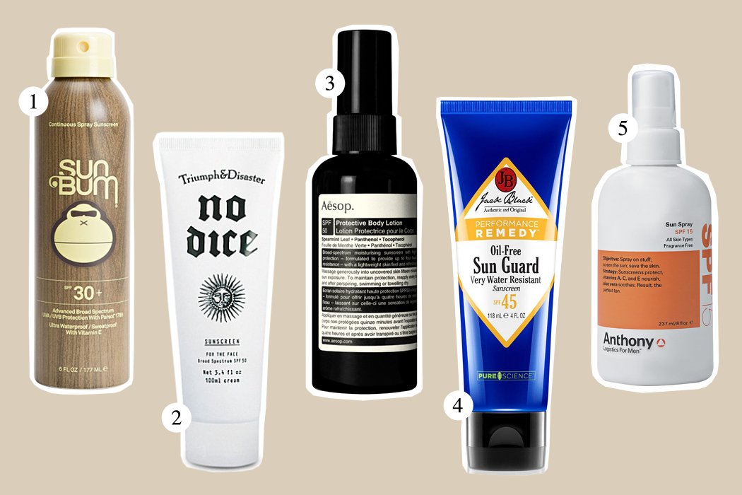 Top Five: Sunscreen