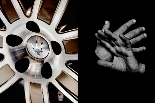 'One of 100' book by Maserati