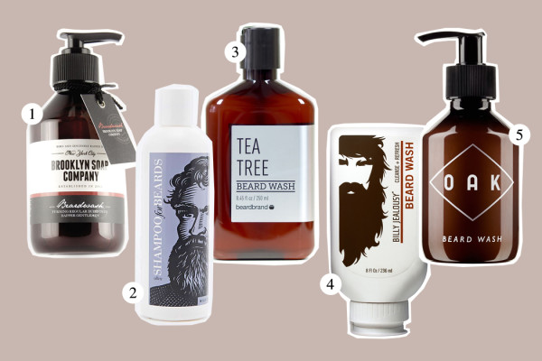 Top Five: Beard Wash