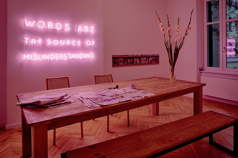 Customised neon installations by sygnsDAAN
