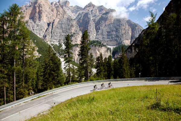 The 5th Floor and adidas ride the Dolomites