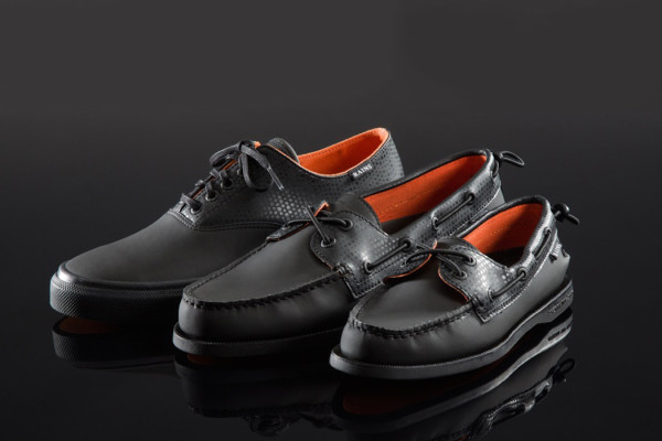Rains x Sperry Footwear Collection