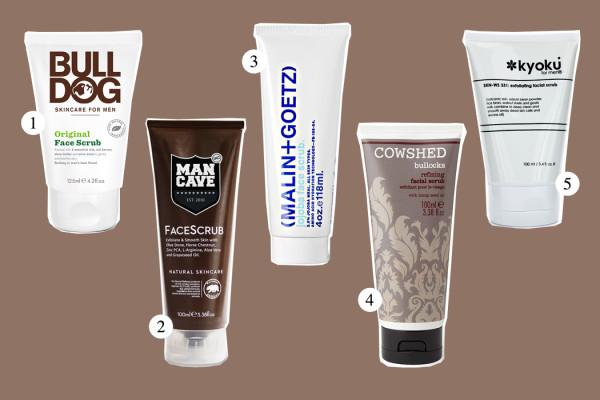 Top Five: Face Scrub