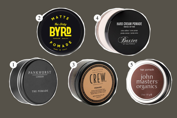 Top Five: Hair Pomade