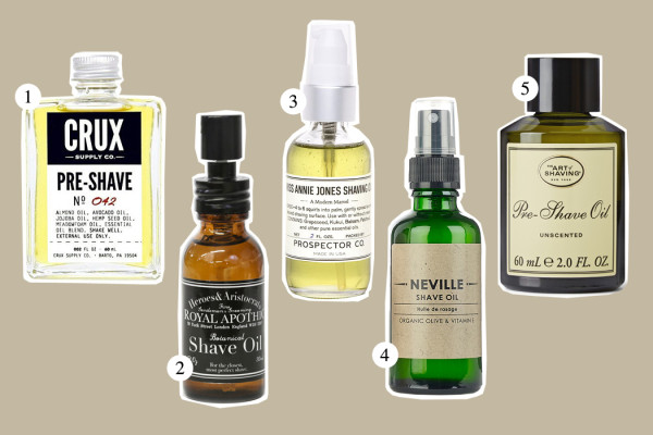Top Five: Shave Oil