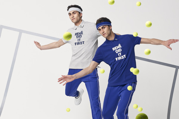 "Lacoste ""René Did It First"" Capsule Collection"
