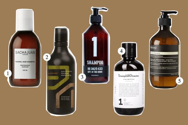 Top Five: Shampoo