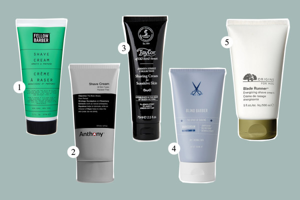 Top Five: Shave Cream