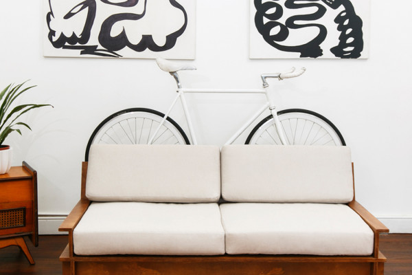 Bike Storage Furniture by Manuel Rossel