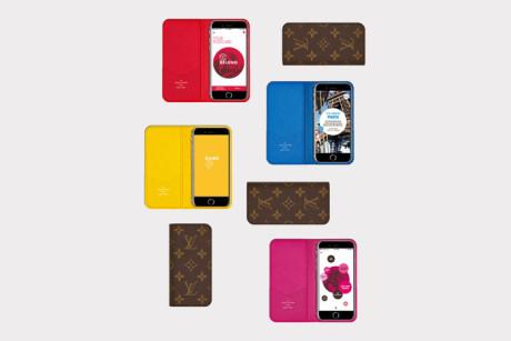 City Guide Mobile App by Louis Vuitton