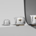 Mammoth Tea Set by Marc Newson and Georg Jensen thumbnail