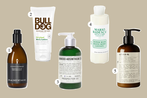 Top Five: Body Lotion