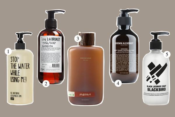 Top Five: Hand Wash