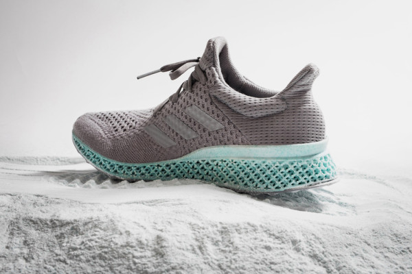 Adidas recycled and 3D printed sneaker