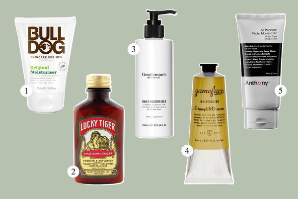 Top Five: Facial Moisturizer