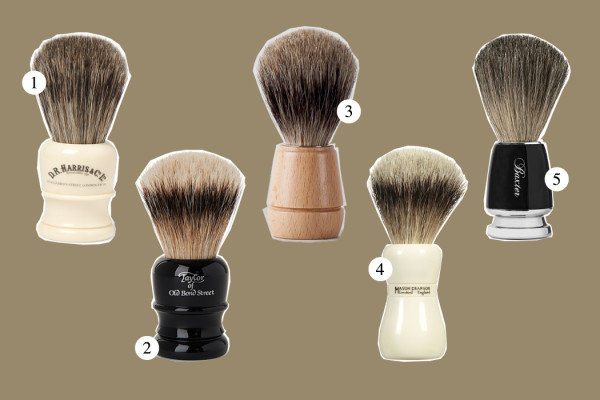 Top Five: Shaving Brush