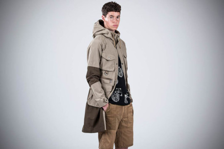Barbour x White Mountaineering SS16
