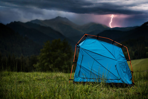 Bolt Mobile Lightning Protective Tent