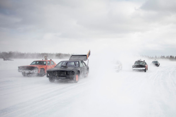 Ice Car Racing in Minnesota