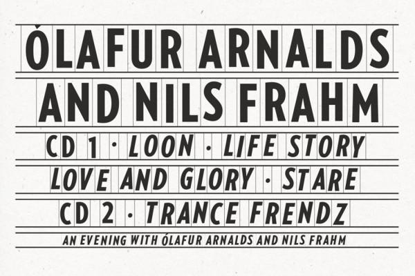 Collaborative Works by Ólafur Arnalds and Nils Frahm