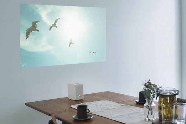 Portable Ultra Short Throw Projector from Sony
