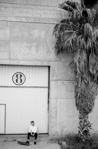 Skateboarding in Barcelona by Sebastien Zanella