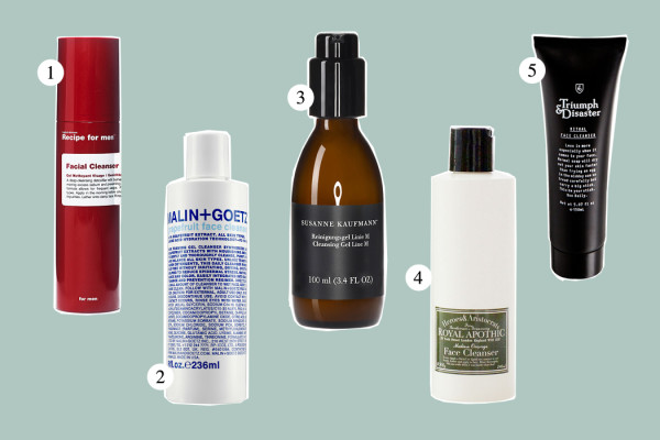 Top Five: Face Cleanser