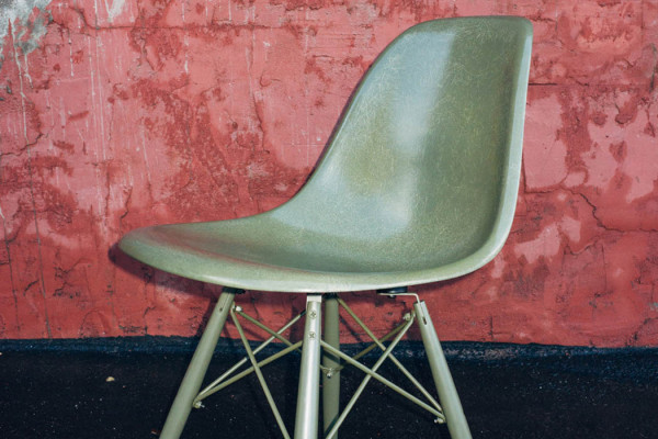 Undefeated and Modernica Shell Chair