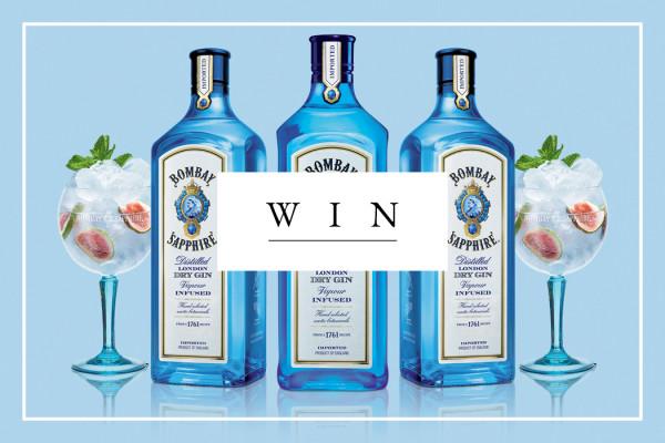 Bombay Sapphire Gin Set
