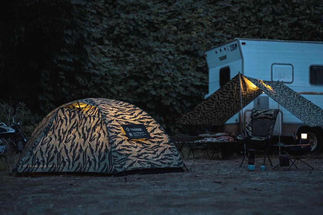 "Neighborhood x Helinox ""Tiger"" Camping Set"