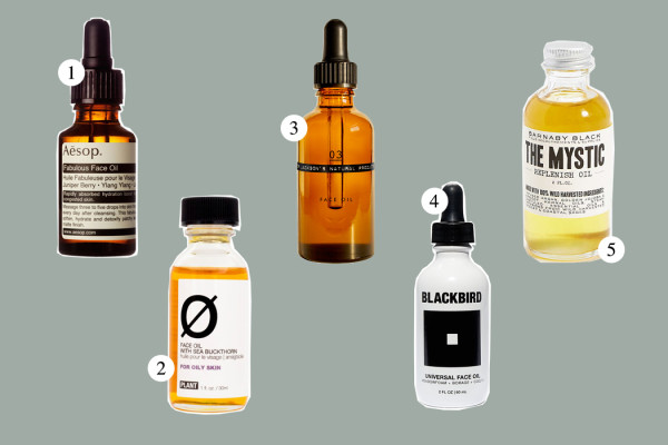 Top Five: Face Oil