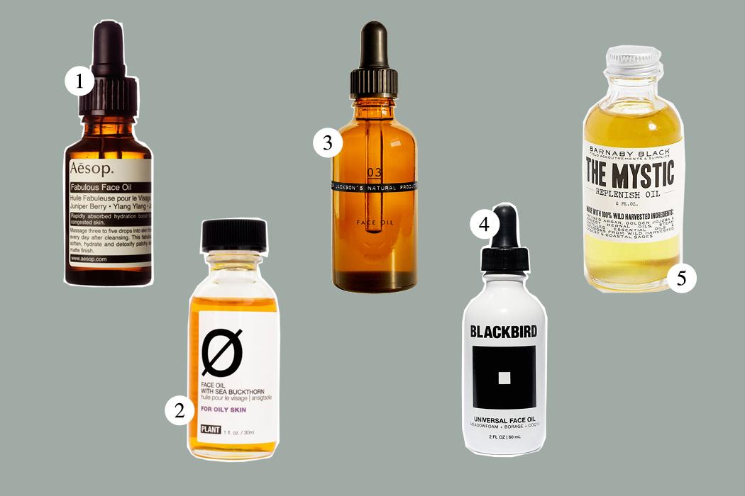 Top Five: Face Oil