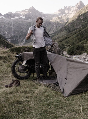 Motorcycle Bivouac by Exposed