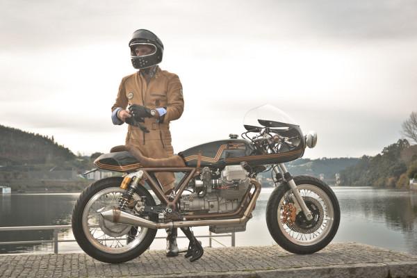 Moto Guzzi Le Mans by Ton-Up Garage