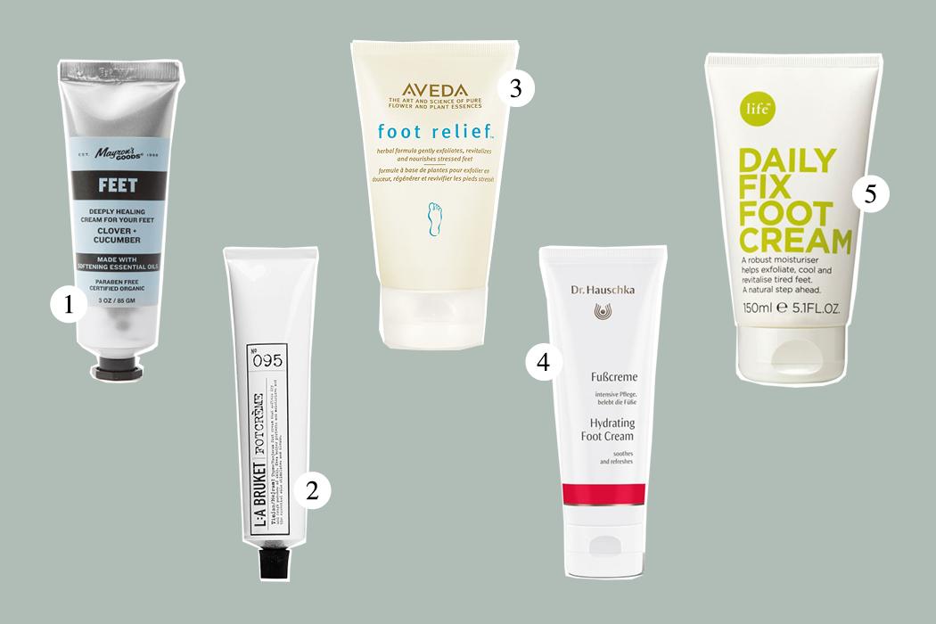 Top Five: Foot Cream