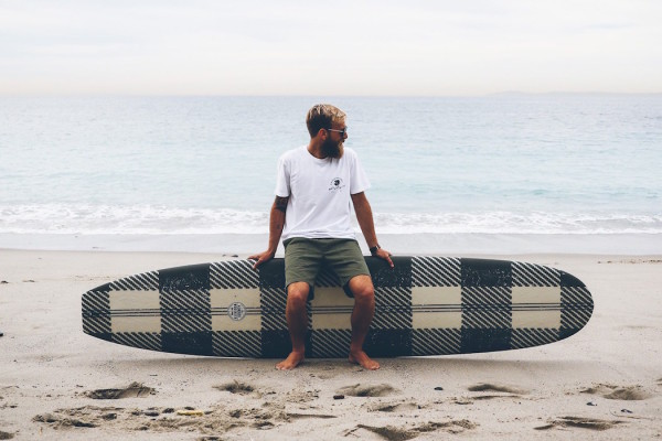 "Woolrich x Almond Surfboards ""Wax and Wool"" Collection"