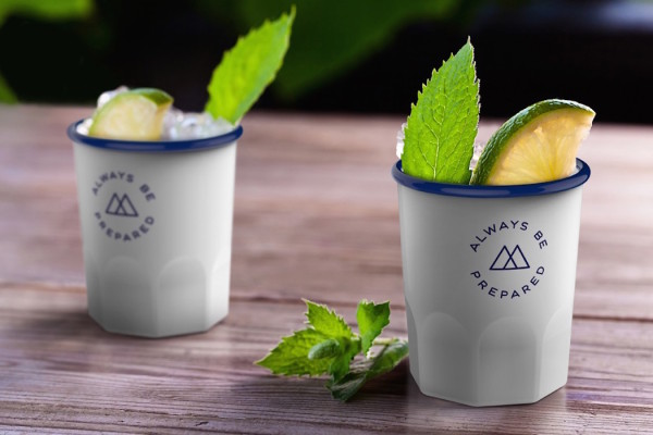 Wander Ware Enamel Drinkware by Fred & Friends