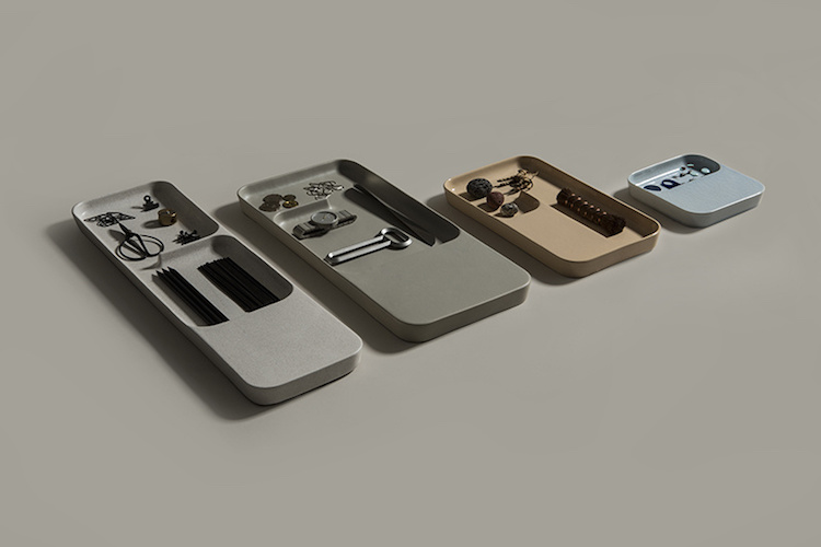 Ceramic Wireless Charging Trays by Layer