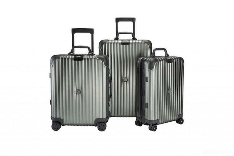 "Moncler x Rimowa ""Topas Stealth"" Luggage Collection"