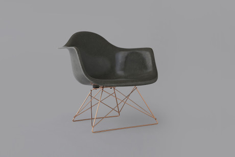 Stüssy Livin' General x Modernica Arm Shell Chair