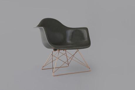 Stüssy Livin' General x Modernica Arm Shell Chair