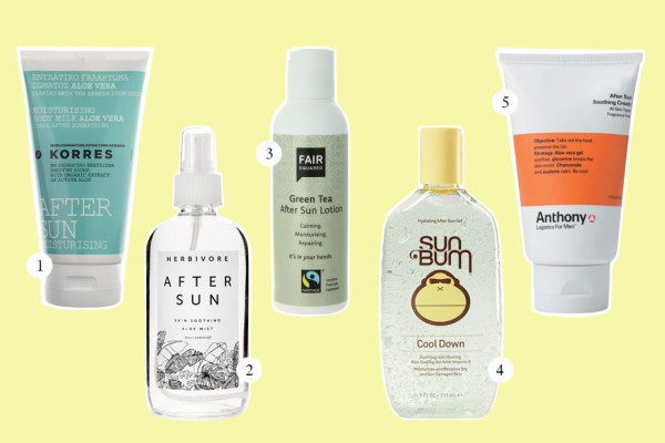 Top Five: After Sun Lotion