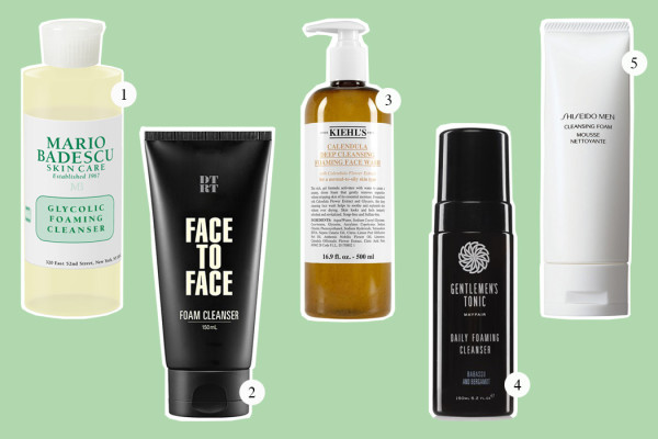 Top Five: Foaming Cleanser