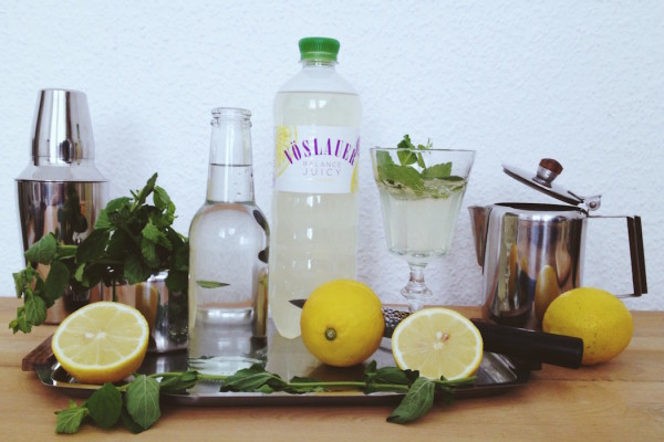 A summer cocktail with Vöslauer Balance Juicy