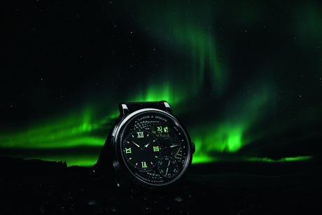 The Northern Lights with A. Lange & Söhne