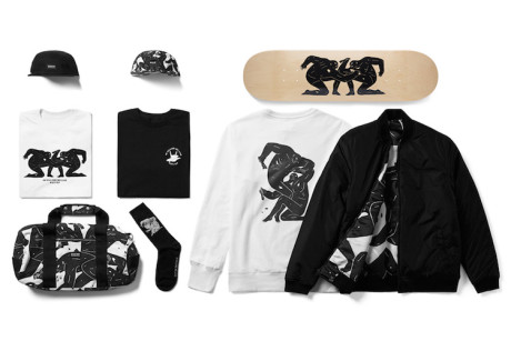"HUF X Cleon Peterson ""In Killing We Live"" Capsule Collection"