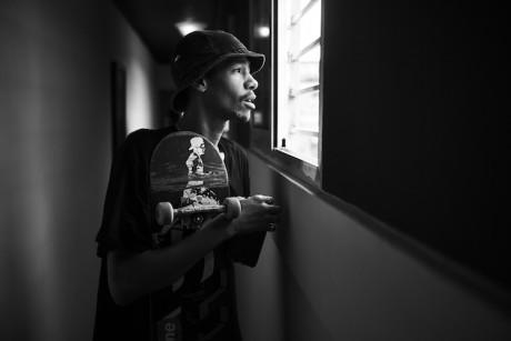 "Lucien Clarke for Stance ""Punks & Poets""Lineup"